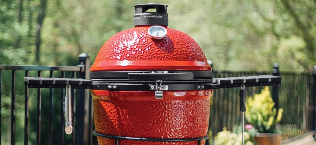 Grill with Side Burners